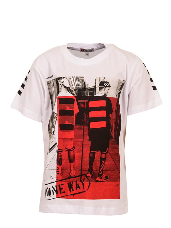 T-Shirt ONE WAY WHITE