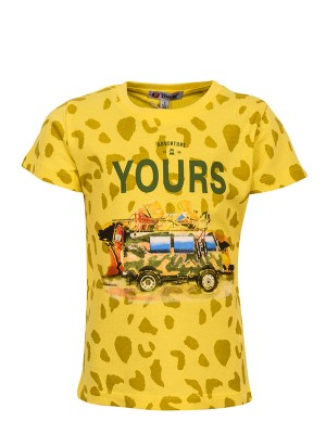 T-Shirt ANDVENTURE YELLOW
