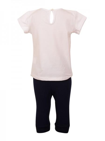 bebe Leggings Set WHITE